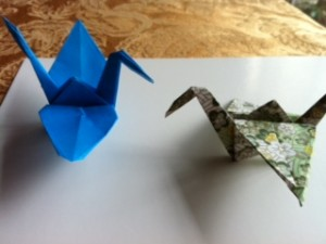 """Peace Cranes"""