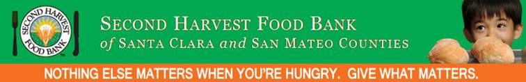 Second Harvest Food Bank Green Banner