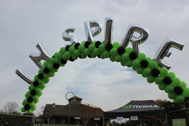 Nvidia-Project-Inspire-Veggielution-Farm-San-Jose-Good-Neighbor-Stories-Balloon-Banner-Greets-Volunteers