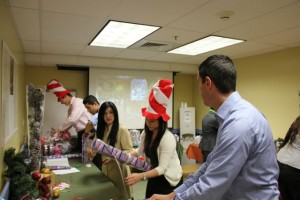 Four Seasons Employees Wrapping
