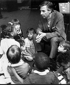 Fred Rogers With Kids