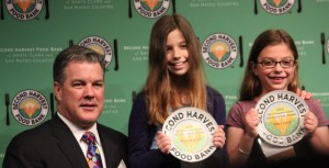dan-campbell-kaitlyn-levin-emily-levin-second-harvest-food-bank