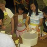 Refugee Transitions Summer Camp Baking