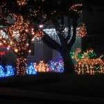 Get into the Holiday Spirit With Severns-Pease Light Display Video